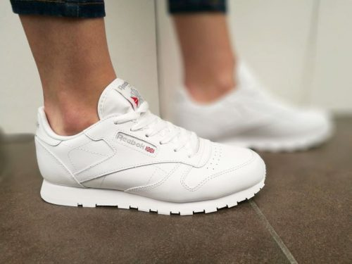 REEBOK CLASSIC JR LEATHER  50151 białe6