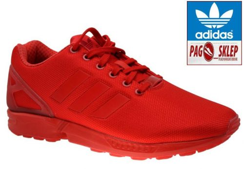 Buty Adidas ZX FLUX ORIGINALS AQ3098 red2
