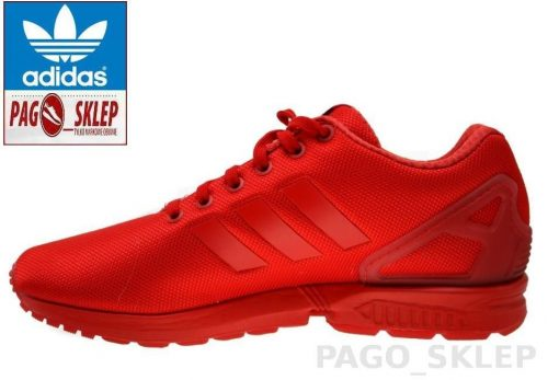 Buty Adidas ZX FLUX ORIGINALS AQ3098 red3