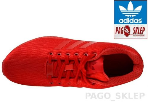 Buty Adidas ZX FLUX ORIGINALS AQ3098 red4