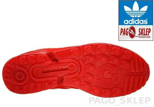Buty Adidas ZX FLUX ORIGINALS AQ3098 red5