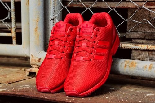 Buty Adidas ZX FLUX ORIGINALS AQ3098 red7