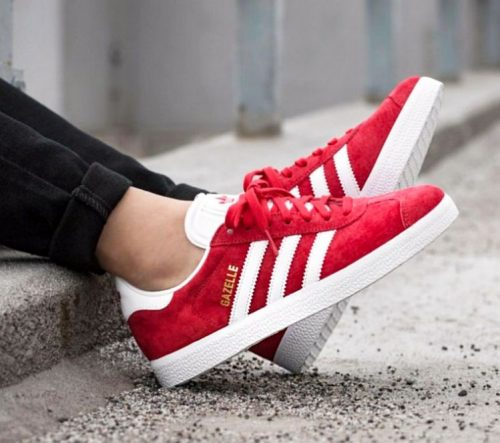 Buty Adidas ORIGINALS GAZELLE S76228  red7