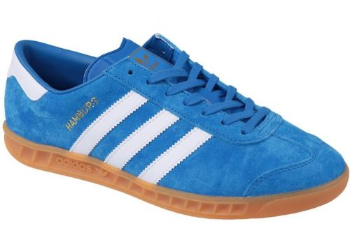 Buty Adidas ORIGINALS HAMBURG S76697 blue1