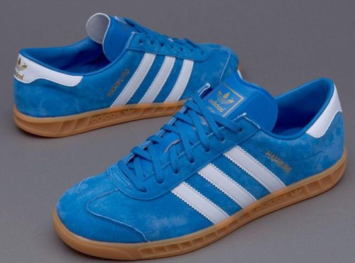Buty Adidas ORIGINALS HAMBURG S76697 blue3