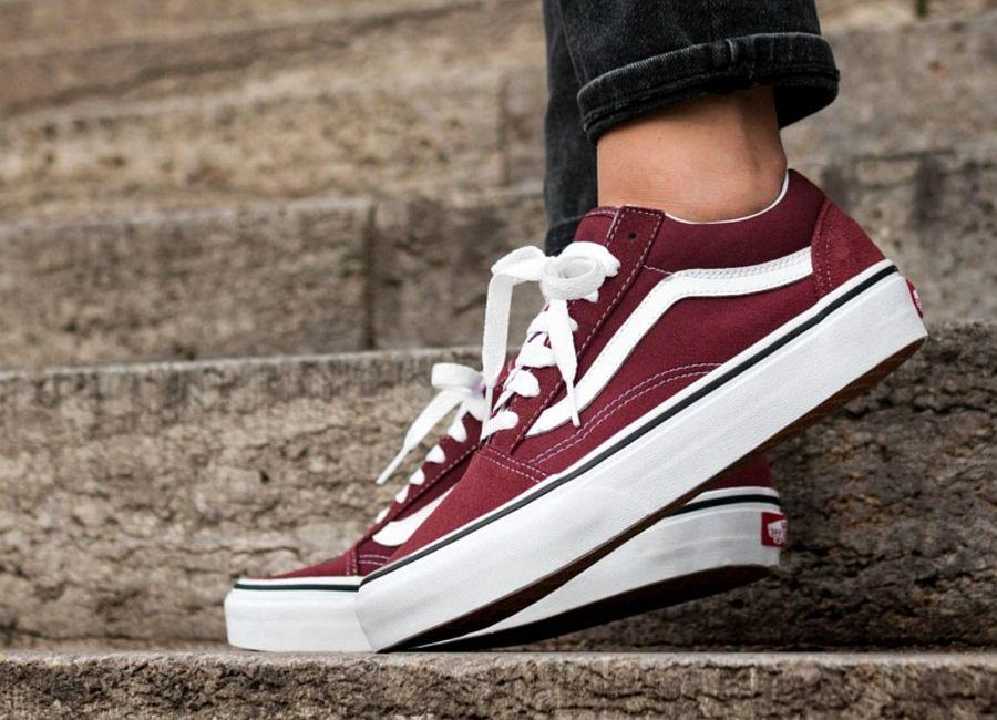 Buty VANS Old Skool APPLE B VA38G1Q9S bordowe NEW – Buty PAGO